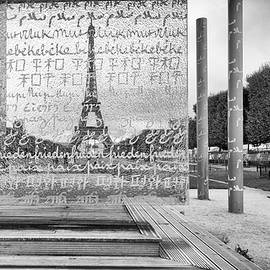 Eiffel Tower As Seen Through The Peace Monument  by Sophia Pagan
