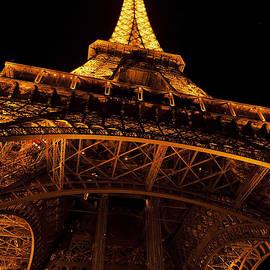 Eiffel Tower at Night by Maj Seda