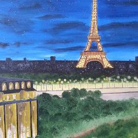Eiffel Tower by Bev Conover