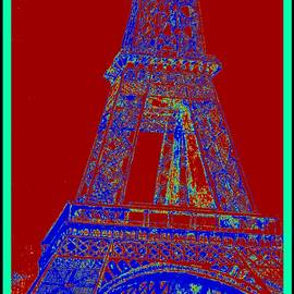 Eiffel Tower Carnival by Irving Starr