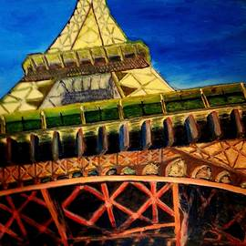 Eiffel Tower Dreaming by Irving Starr