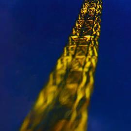 Eiffel tower fly away. by Alexander Vinogradov