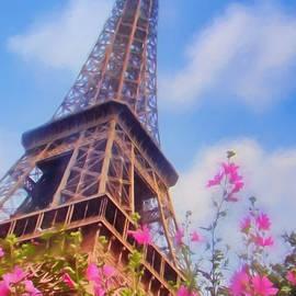 Eiffel Tower in Spring by Nikolyn McDonald