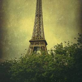 Eiffel Tower in Springtime by Toni Abdnour