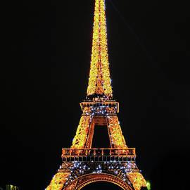 Eiffel Tower Lights by Craig Andrews