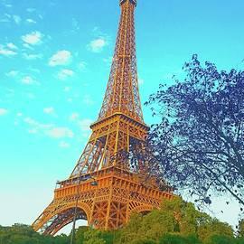 Eiffel Tower by Mark J Dunn