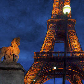 Eiffel Tower - Night by Nikolyn McDonald