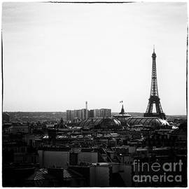 Eiffel Tower over looking Paris by Sophia Pagan