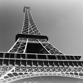 Eiffel Tower To The Sky by Toni Abdnour