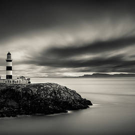 Eilean Glas Lighthouse I by Dave Bowman