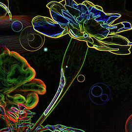 Electric Flower by Art By ONYX