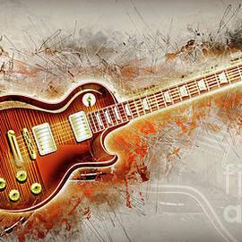 Ian Mitchell - Electric Guitar Art