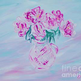 Oksana Semenchenko - Elegant Bouquet of Peonies. Joyful Gift. Thank You Collection