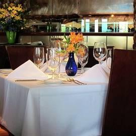 Elegant Restaurant by Cynthia Guinn