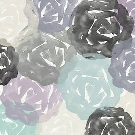 Elegant Roses- Art By Linda Woods by Linda Woods