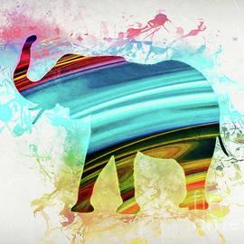 Ian Mitchell - Elephant Art