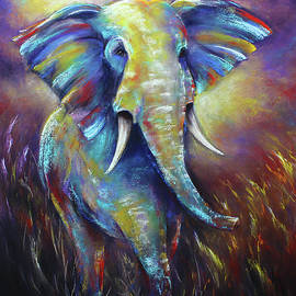 Elephant by Patricia Lintner