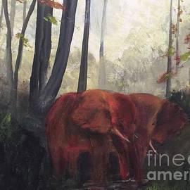Elephants by Trilby Cole