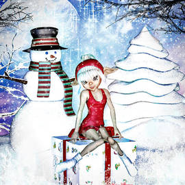 Elfin Winter Holidays by Alicia Hollinger