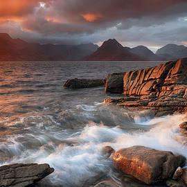 Grant Glendinning - Elgol Stormy Sunset