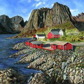 Timothy Hacker - Eliassen Rorbuer Painting