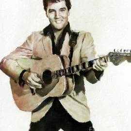 Elvis Presley, Music Legend by Mary Bassett - Mary Bassett