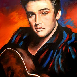 Elvis Presley by Robert Korhonen