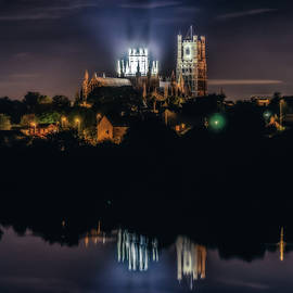 James Billings - Ely Cathedral by night