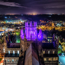 James Billings - Ely Cathedral in Purple