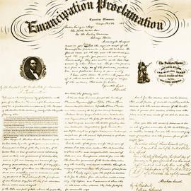 Emancipation Proclamation by Photo Researchers