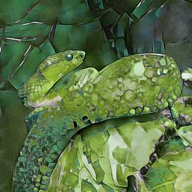 Emerald Viper by Susan Maxwell Schmidt