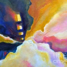 Manjiri Kanvinde - Emergence Abstract colorful Inspirational painting