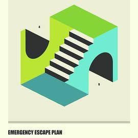 EMERGENCY ESCAPE PLAN 4 - Jazzberry Blue