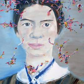 EMILY DICKINSON - oil portrait