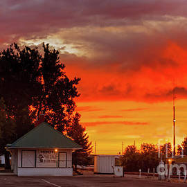 Emmett Train Station by Robert Bales