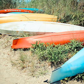 Emotion - Kayaks by Colleen Kammerer