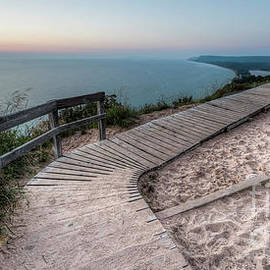 Empire Bluff Boardwalk - Twenty Two North Photography