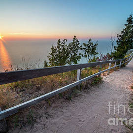 Empire Bluff Sunset - Twenty Two North Photography