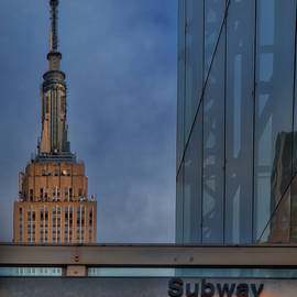 Susan Candelario - Empire State 34th St Subway NYC