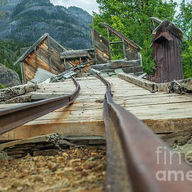 Empty Tracks by Tony Baca