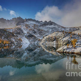Enchantments Leprechaun Lake Winterscape - Mike Reid