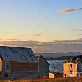End of the day in Trinity Bay, Newfoundland by Tatiana Travelways