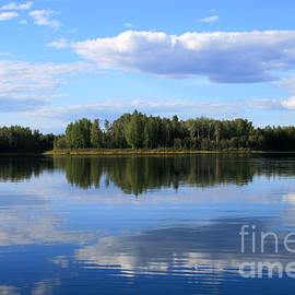 Sharon Mau - Enda Lechauhanne Reflections of Beauty Chena River Lakes Alaska