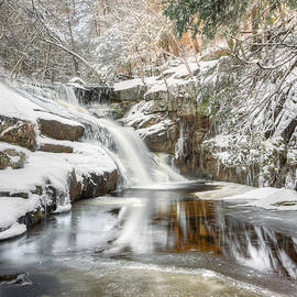 Enders Falls Winter by Bill Wakeley