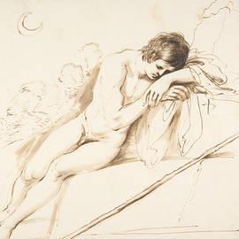Guercino - Endymion Sleeping