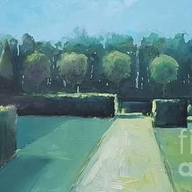 Wim Wege van de - English garden 1
