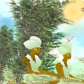 Belinda Threeths - Enjoying Nature