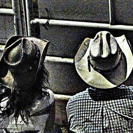 Enjoying The Rodeo Grungy
