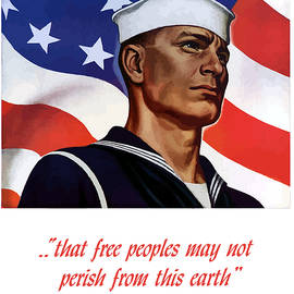 Enlist In Your Navy Today - WW2 by War Is Hell Store
