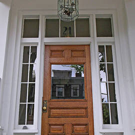 Mary Ann Weger - Entranceway and Reflections Cambridge, MA